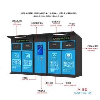 四分类智能垃圾箱