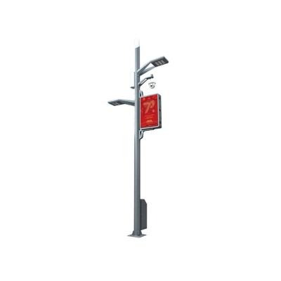 路灯-- 候车亭