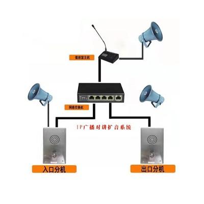 讲扩音系统-- 候车亭
